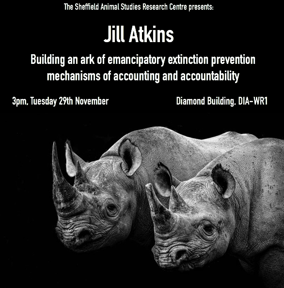 29th Nov Jill Atkins Extinction